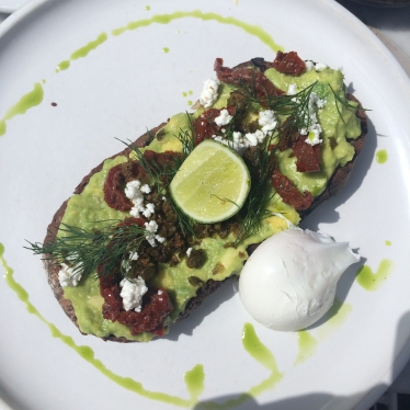 I love Avocado toast with poached egg