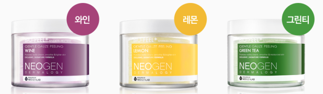 NEOGEN Bio Peel Gauze Peeling _Wine_ Lemon_ Green Tea__1